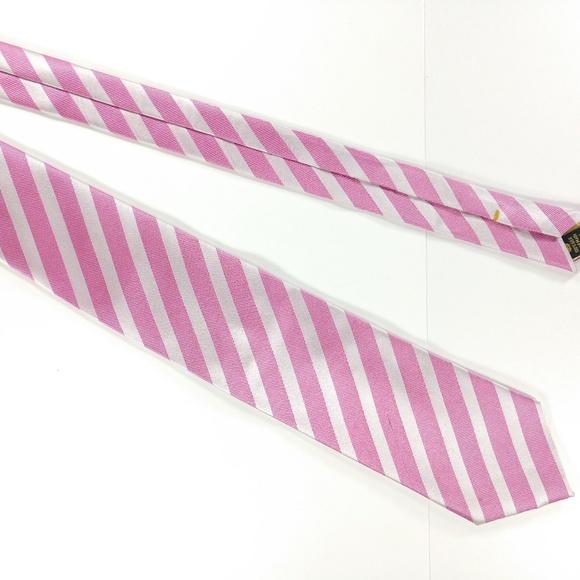 474402d98c6c Countess Mara Accessories | Mens Silk Necktie Pink Striped | Poshmark